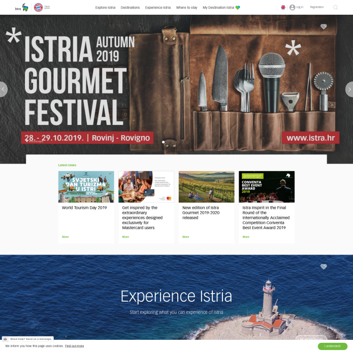 Istria tourist board